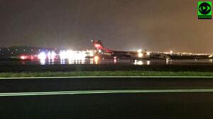 Samolot z Wrocławia awaryjnie lądował na Lotnisku Chopina