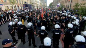 Blokada pochodu narodowców. Interweniowała policja