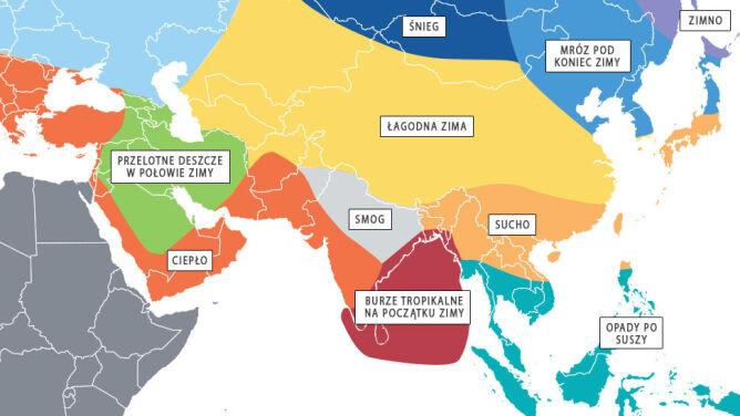 Planujesz zimową podróż do Azji? Sprawdź, jakiej pogody możesz się spodziewać
