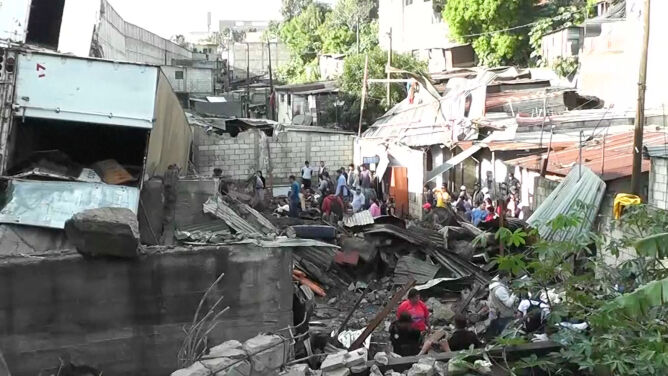 W Gwatemali osunęła się ziemia. <br />Nie żyje co najmniej dziewięć osób