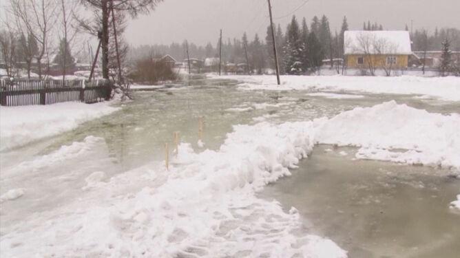 Topi się lód. Wyjątkowo ciepło na Syberii