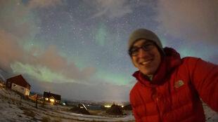 Karol Wójcicki poluje w Norwegii na zorzę polarną