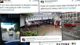 Anglicy chcą wyjeżdżać z Londynu. Mają dosyć deszczowej pogody